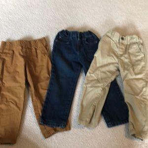 Lot of 3t pants